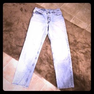 Vintage Student Levis 701 high waisted